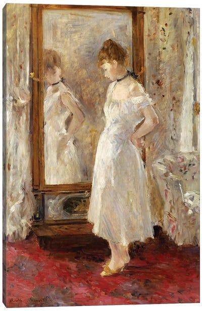 The Psyche Mirror, 1876 Canvas Art Print