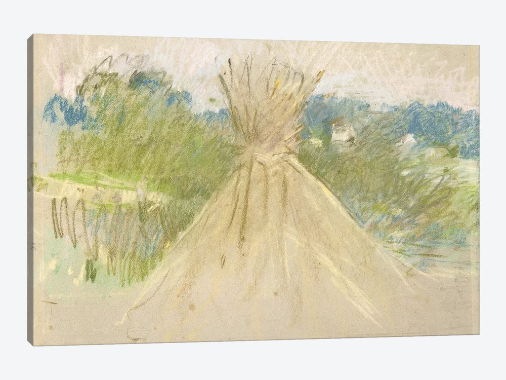 The Small Haystack, 1882 by Berthe Morisot 1-piece Canvas Art Print