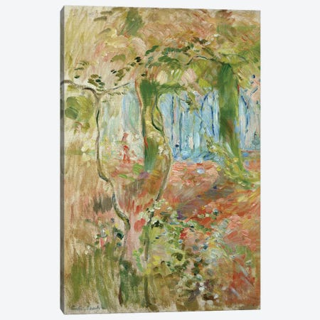 Undergrowth In Autumn, 1894 Canvas Print #BMN7397} by Berthe Morisot Canvas Art Print
