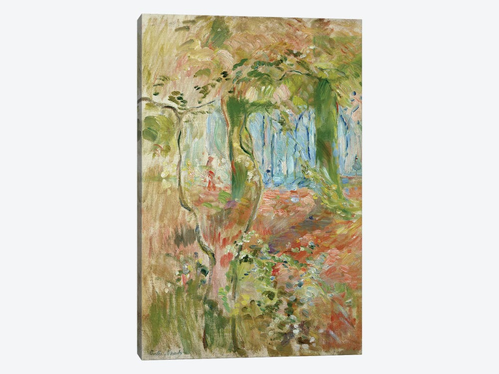 Undergrowth In Autumn, 1894 by Berthe Morisot 1-piece Canvas Art Print