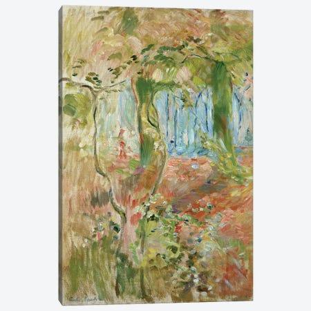 Undergrowth In Autumn, 1894 Canvas Print #BMN7397} by Berthe Morisot Canvas Art Print
