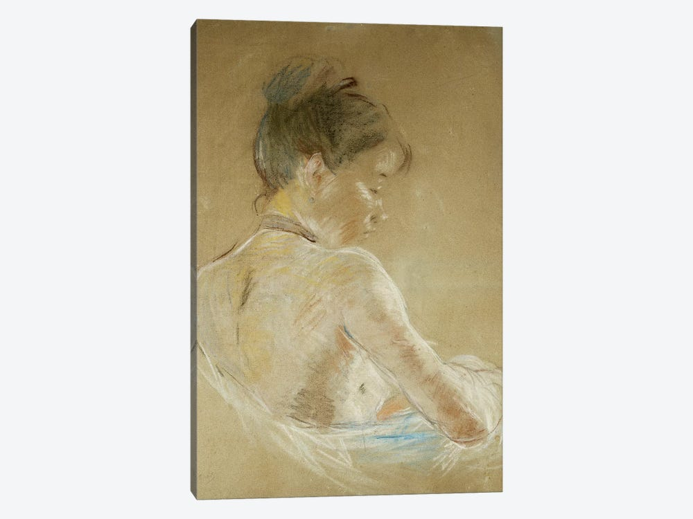 Young Girl With Naked Shoulders (Jeune Fille Aux Epaules Nues), 1885 1-piece Canvas Art Print
