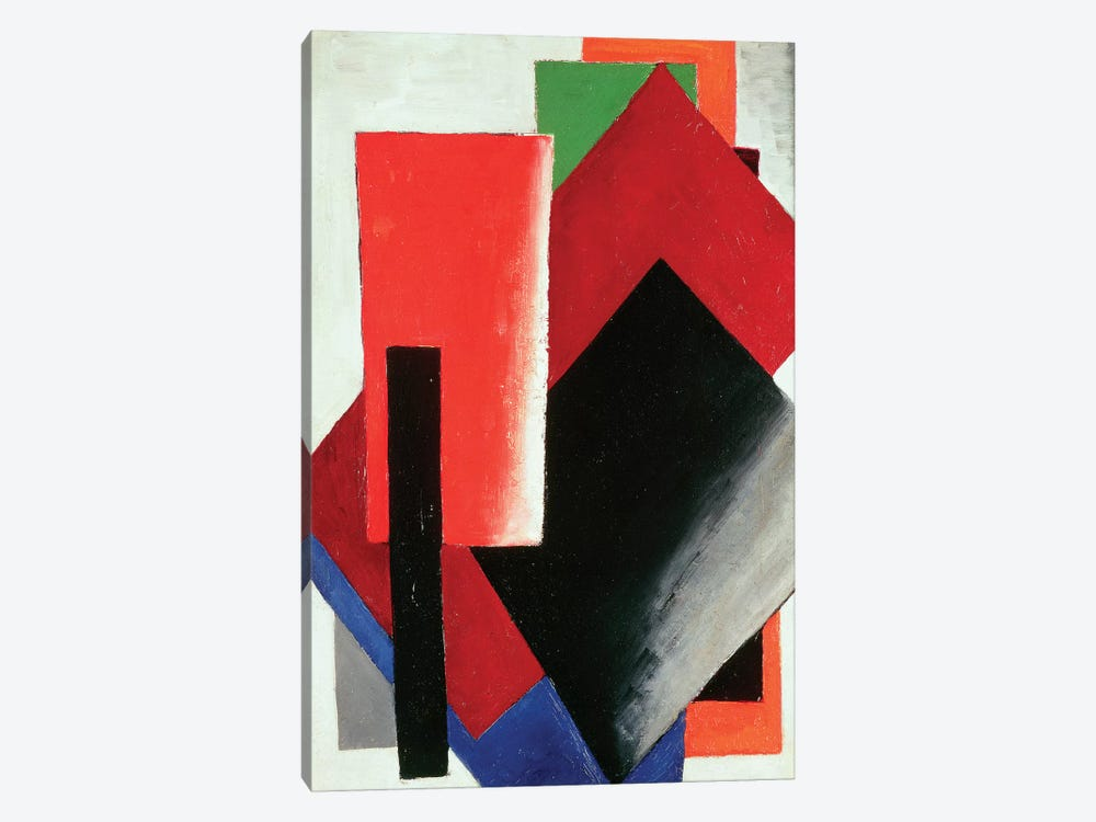 Architectonic Composition, 1918 by Lyubov Popova 1-piece Canvas Art