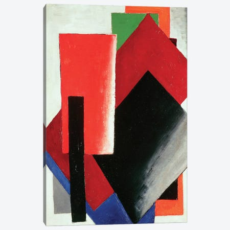 Architectonic Composition, 1918 Canvas Print #BMN7424} by Lyubov Popova Art Print
