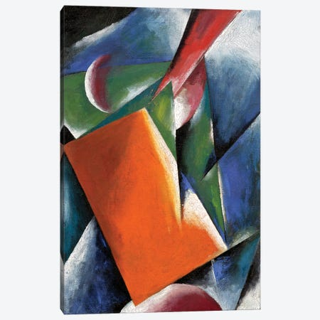 Architectonic Painting, 1917 Canvas Print #BMN7425} by Lyubov Popova Canvas Print