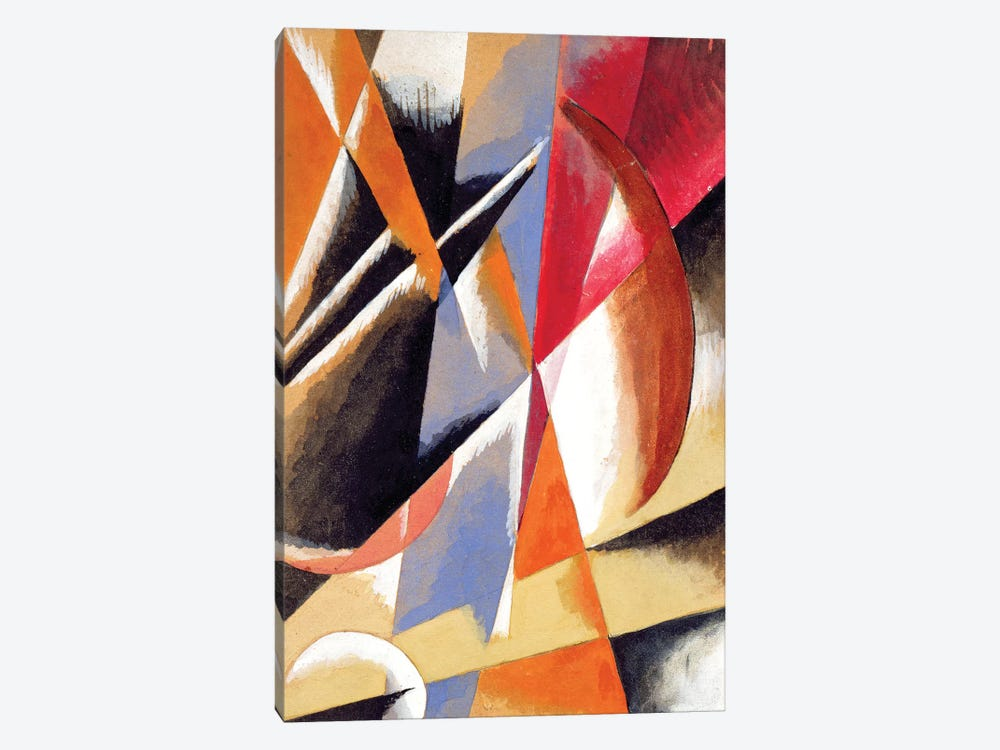 Composition, c.1920 by Lyubov Popova 1-piece Canvas Artwork