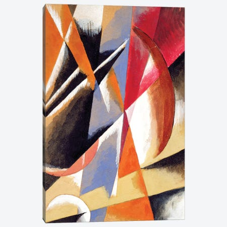 Composition, c.1920 Canvas Print #BMN7426} by Lyubov Popova Canvas Print