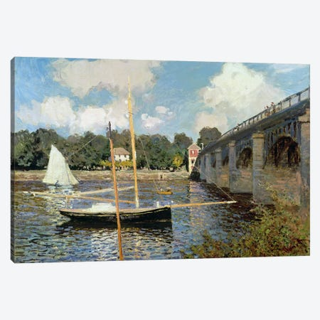 The Seine at Argenteuil  Canvas Print #BMN742} by Claude Monet Art Print