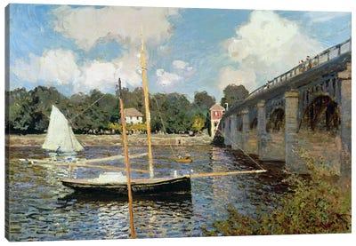 The Seine at Argenteuil  Canvas Print #BMN742