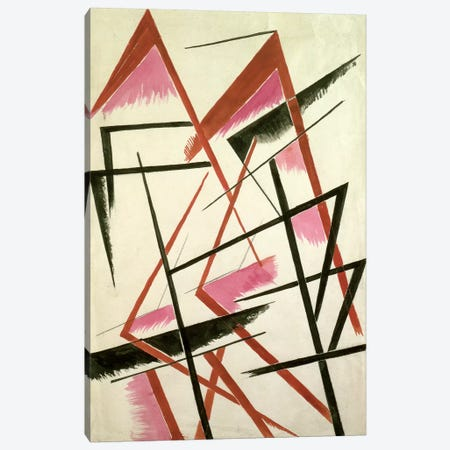 Linear Construction, c.1921 Canvas Print #BMN7431} by Lyubov Popova Canvas Print