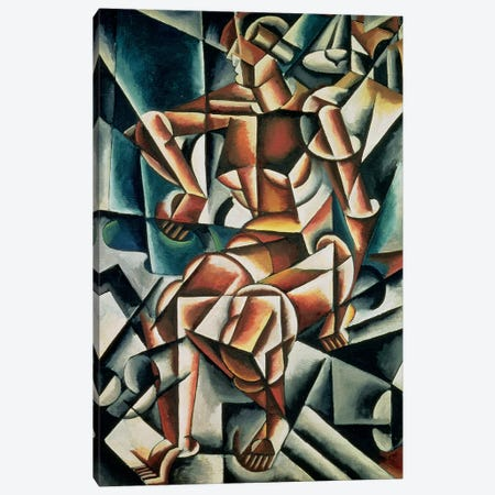 Man + Air + Space, 1915 Canvas Print #BMN7432} by Lyubov Popova Canvas Print