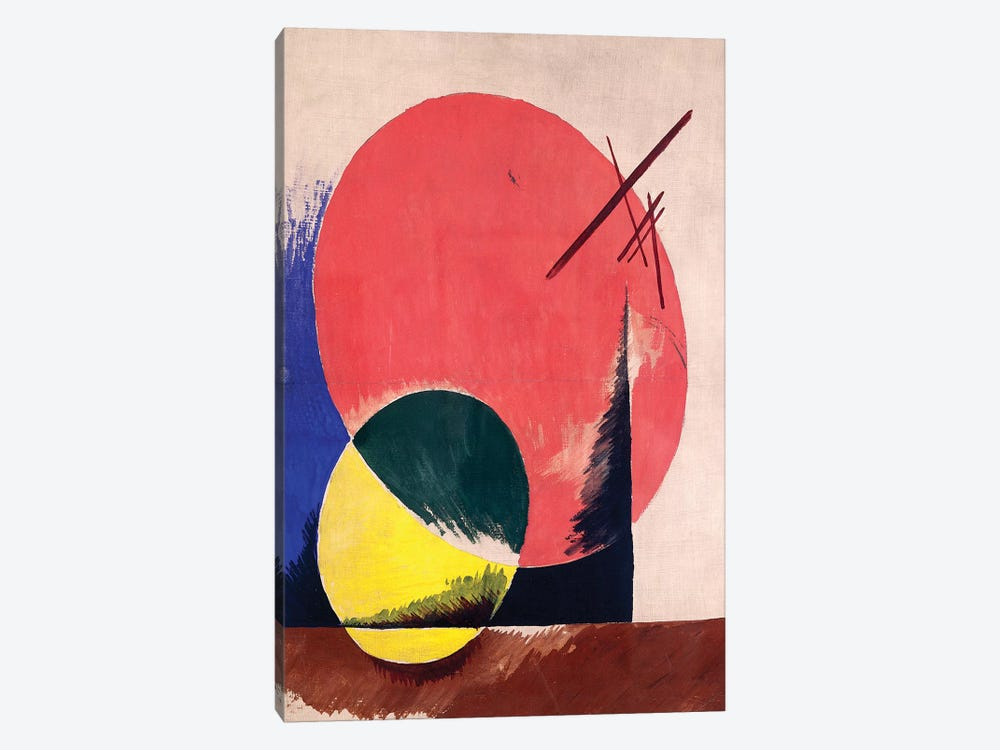 Non-Objective Composition, 1918 by Lyubov Popova 1-piece Art Print
