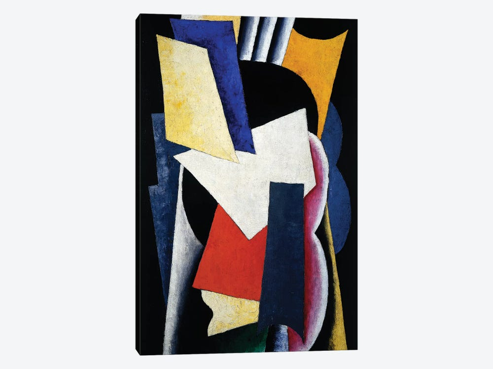 Painterly Architectonic (Still Life: Instruments), 1915 1-piece Canvas Wall Art