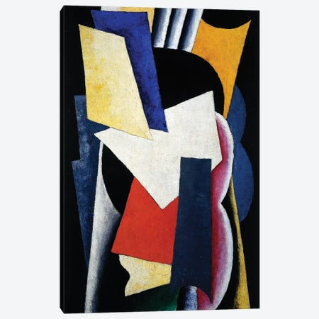 Painterly Architectonic (Still Life: Instruments), 1915 Canvas Print #BMN7435} by Lyubov Popova Canvas Wall Art