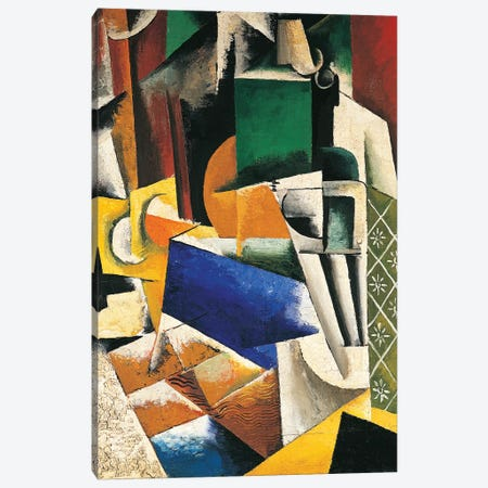 Still Life, 1915-16 Canvas Print #BMN7438} by Lyubov Popova Art Print