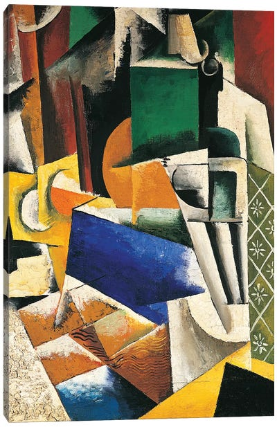 Still Life, 1915-16 Canvas Art Print