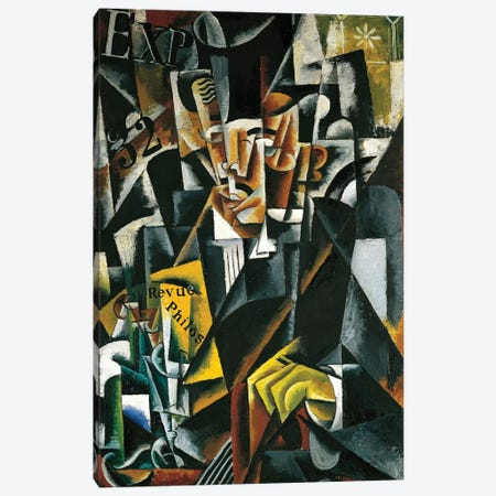 The Philosopher, 1915 Canvas Print #BMN7440} by Lyubov Popova Canvas Art