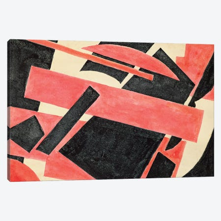 Untitled, 1918 Canvas Print #BMN7443} by Lyubov Popova Canvas Artwork