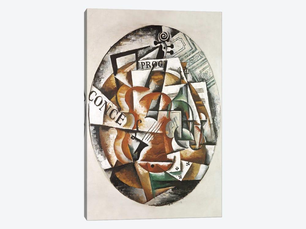 Violin, 1915 by Lyubov Popova 1-piece Canvas Wall Art