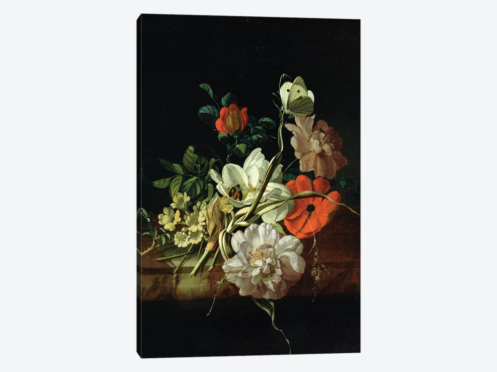 Still Life With Flowers 1-piece Canvas Art Print