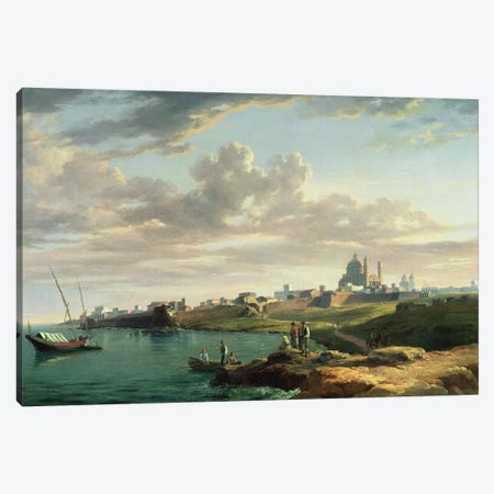 A View of Montevideo Canvas Print #BMN745} by William Marlow Canvas Artwork