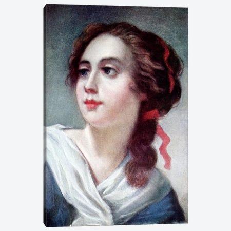 Marquise de Crussolls Canvas Print #BMN7468} by Elisabeth Louise Vigee Le Brun Canvas Art