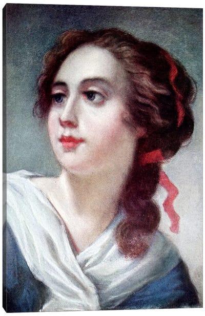 Marquise de Crussolls Canvas Art Print