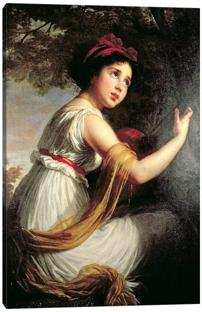 Portrait Of Julie Le Brun, c.1797 Canvas Art Print