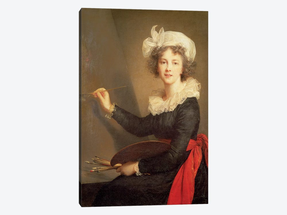 Self Portrait, 1790 by Elisabeth Louise Vigee Le Brun 1-piece Canvas Print