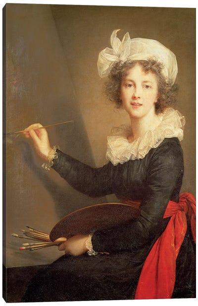 Self Portrait, 1790 Canvas Art Print