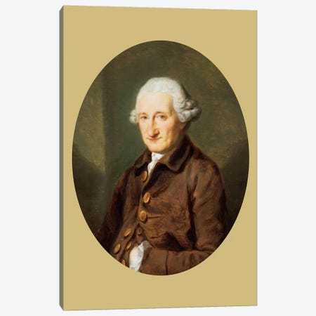 A Man Called Sir Robert Hervey, c.1780 Canvas Print #BMN7471} by Angelica Kauffmann Canvas Print
