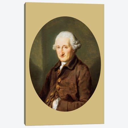 A Man Called Sir Robert Hervey, c.1780 Canvas Print #BMN7471} by Angelica Kauffmann Canvas Print
