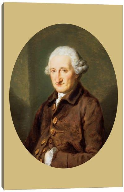 A Man Called Sir Robert Hervey, c.1780 Canvas Art Print