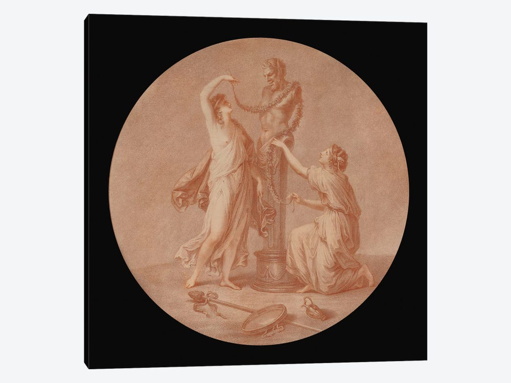 A Sacrifice To Pan, 1776 by Angelica Kauffmann 1-piece Canvas Print