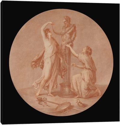 A Sacrifice To Pan, 1776 Canvas Art Print