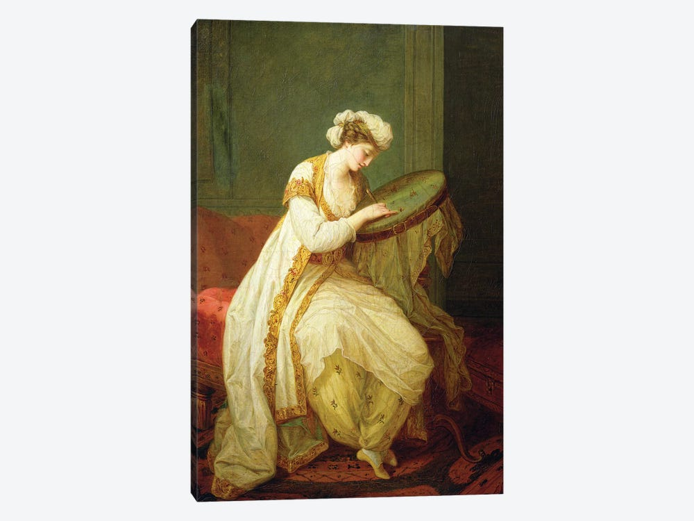 A Turkish Woman, 1773 by Angelica Kauffmann 1-piece Art Print