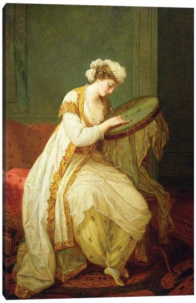 A Turkish Woman, 1773 Canvas Art Print