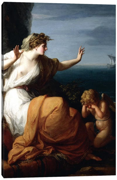 Ariadne Abandoned By Theseus Canvas Art Print