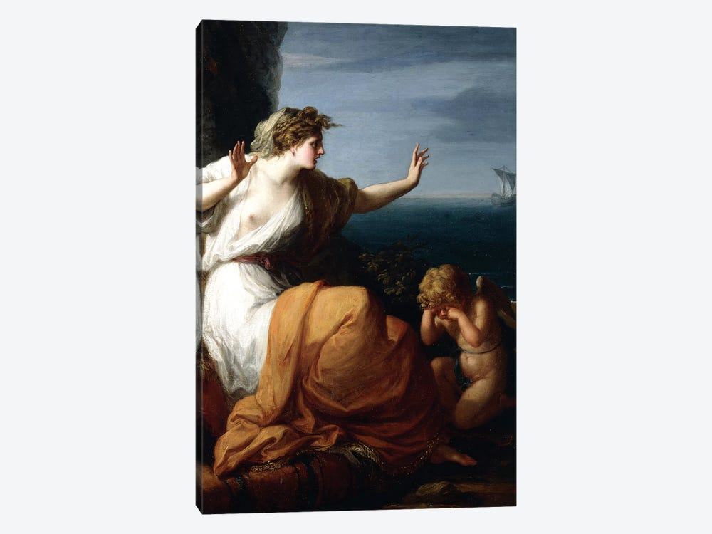 Ariadne Abandoned By Theseus by Angelica Kauffmann 1-piece Art Print