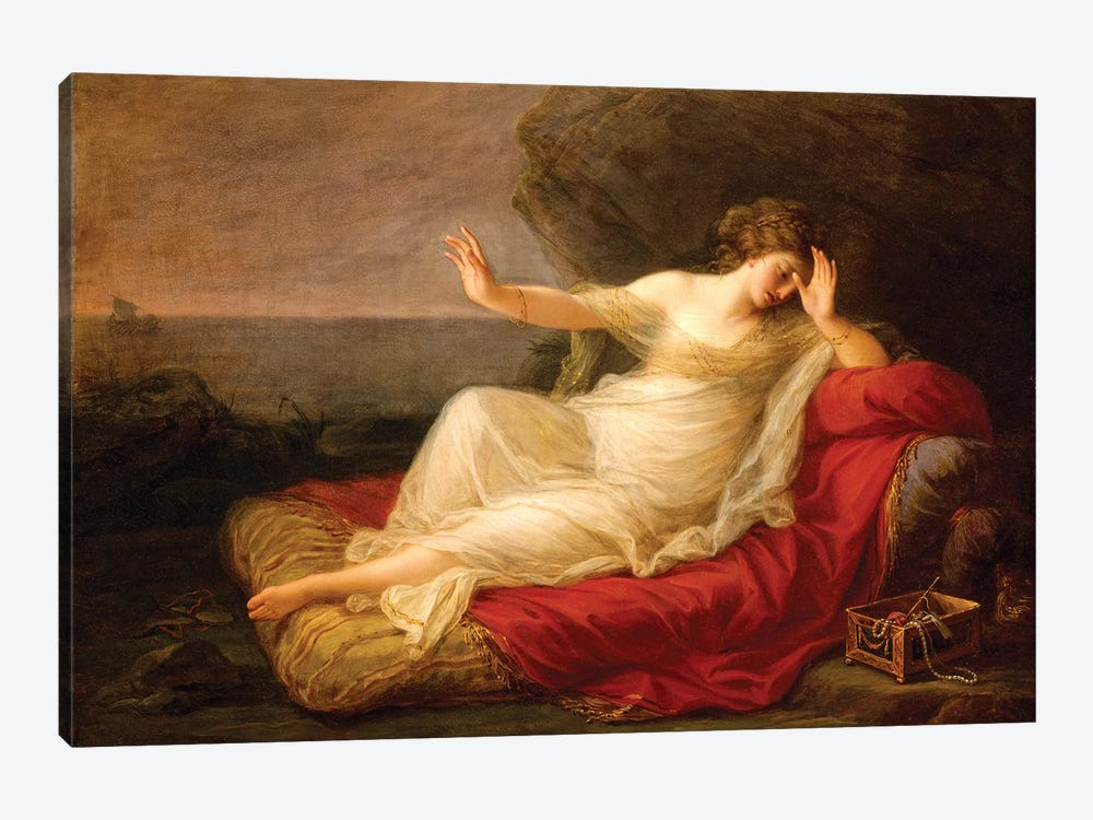 Ariadne Abandoned By Theseus On Naxos, 1774 by Angelica Kauffmann 1-piece Canvas Art
