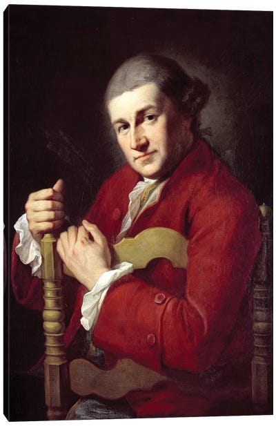 David Garrick Canvas Art Print