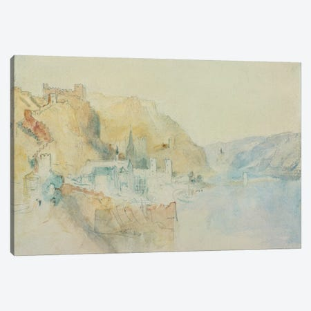 On The Rhine  Canvas Print #BMN748} by J.M.W. Turner Canvas Art Print