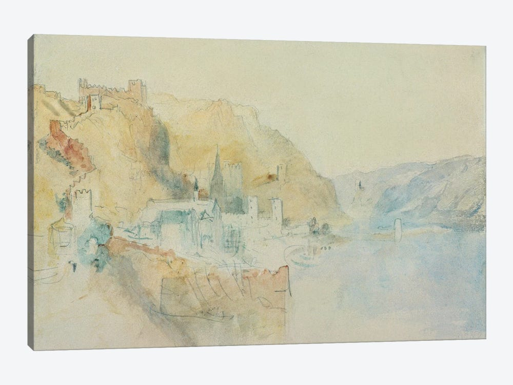 On The Rhine  by J.M.W. Turner 1-piece Canvas Artwork