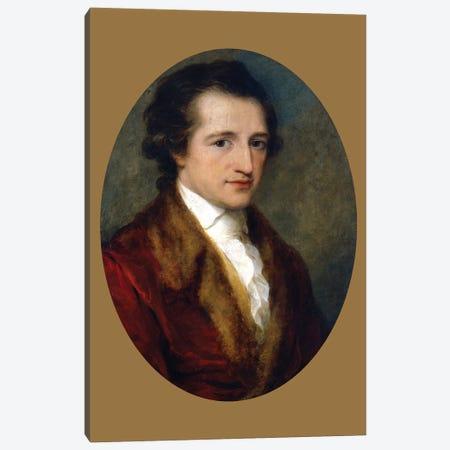 Johann Wolfgang von Goethe, 1787-88 Canvas Print #BMN7496} by Angelica Kauffmann Canvas Artwork