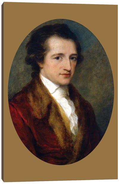 Johann Wolfgang von Goethe, 1787-88 Canvas Art Print