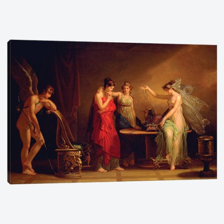 Legend Of Cupid And Psyche Canvas Print #BMN7499} by Angelica Kauffmann Art Print
