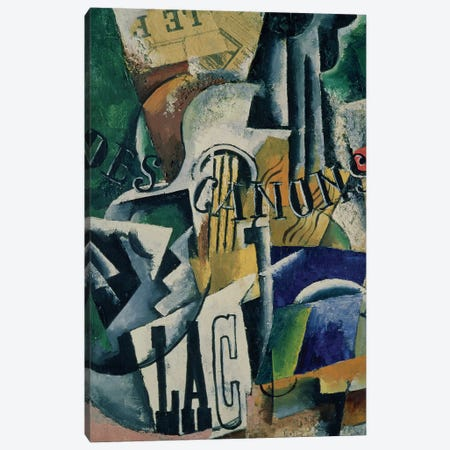 Italian Still Life, 1914 Canvas Print #BMN74} by Lyubov Popova Canvas Art