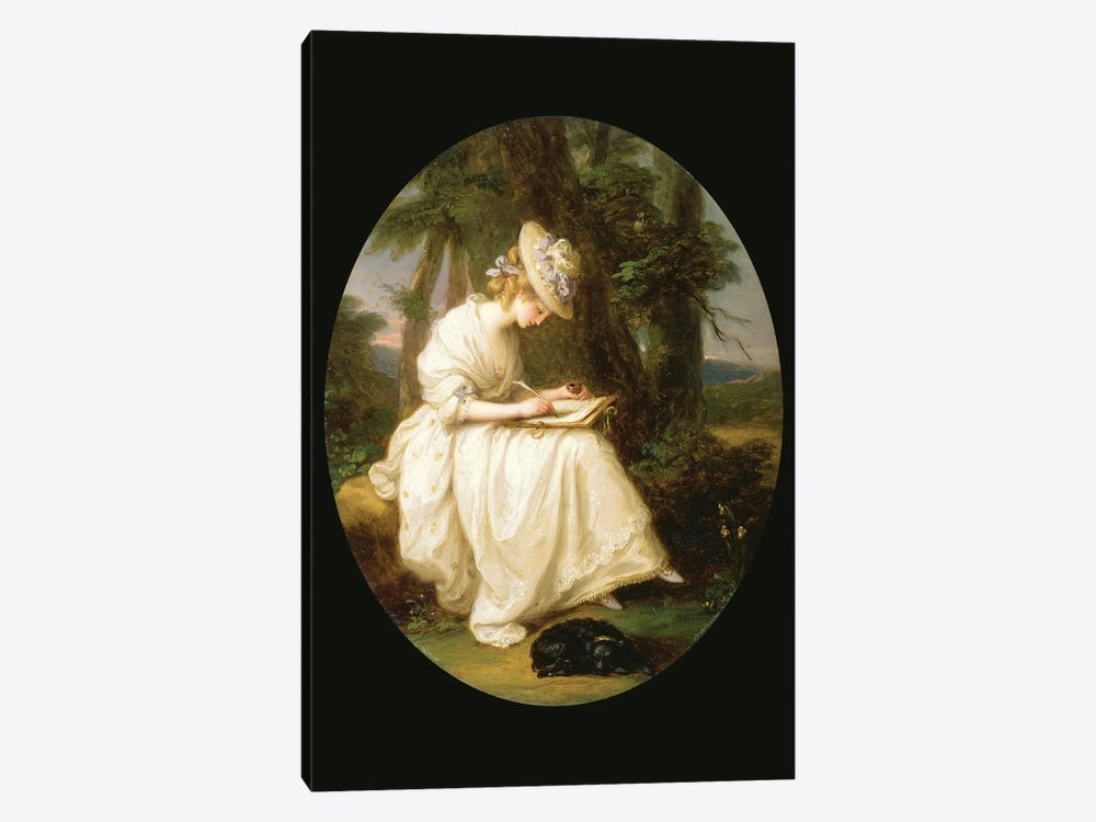 Louisa Hammond by Angelica Kauffmann 1-piece Canvas Wall Art