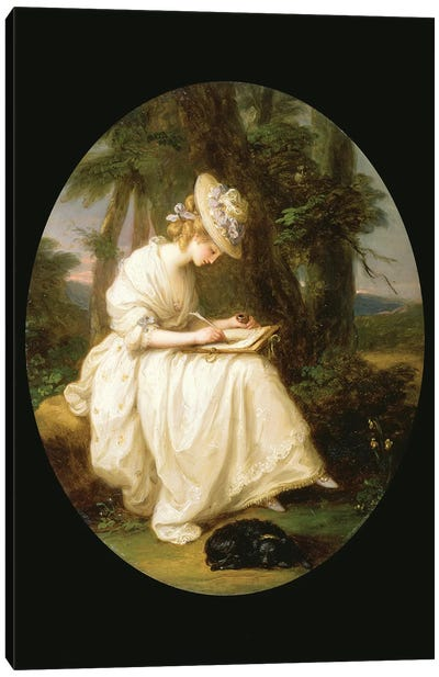 Louisa Hammond Canvas Art Print