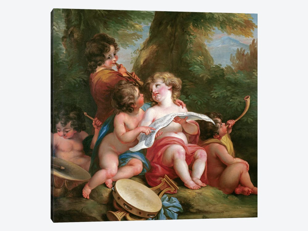 Music by Angelica Kauffmann 1-piece Canvas Art Print
